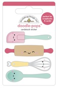 Baker's Kneads Doodlepops - Made With Love - Doodlebug
