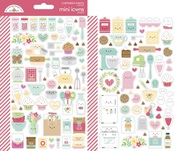 Made With Love Mini Icons Stickers - Doodlebug