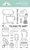 Made With Love Doodle Stamps - Doodlebug