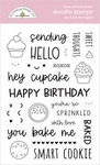 You Bake Me Happy Doodle Stamps - Made With Love - Doodlebug