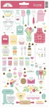 Made With Love Icons Stickers - Doodlebug