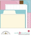 Made With Love Assortment Cards & Envelopes - Doodlebug