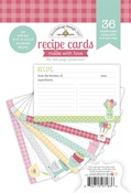 Made With Love 4x6 Recipe Cards Paper Pad - Doodlebug