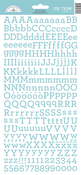 Swimming Pool My Type Cardstock Alpha Stickers - Doodlebug