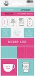"#17 - P13 Journal Cardstock Stickers 4""X9"""