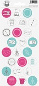"#18 - P13 Journal Cardstock Stickers 4""X9"""