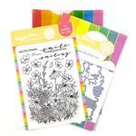 Tender Blooms Stamp & Die Set - Waffle Flower