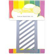 Slimline Angled Panel Die - Waffle Flower