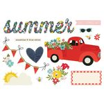 Summer Page Pieces - Simple Stories