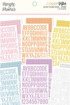 Spring Alphabet Sticker Book - Color Vibe - Simple Stories - PRE ORDER