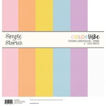 Spring Color Vibe Cardstock Kit - Color Vibe - Simple Stories