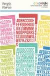 Summer Alphabet Sticker Book - Simple Stories - PRE ORDER