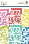 Summer Alphabet Sticker Book - Simple Stories