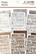 Woods Alphabet Sticker Book - Simple Stories