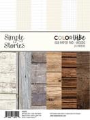 Woods 6x8 Paper Pad - Simple Stories