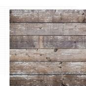 Cedar/White Ledger Cardstock Paper - Simple Stories