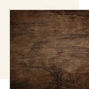 Walnut/Cream Ledger Cardstock Paper - Simple Stories