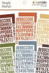 Fall Alphabet Sticker Book - Simple Stories - PRE ORDER