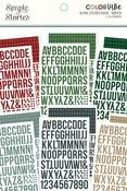 Winter Alphabet Sticker Book - Simple Stories