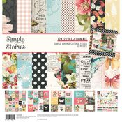 Simple Vintage Cottage Fields 12x12 Collection Kit - Simple Stories