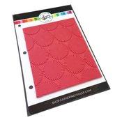 Dotted Bursts Background Stamp - Catherine Pooler