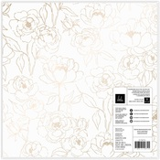 Vellum & Champagne Foiled Paper - Care Free - Heidi Swapp - PRE ORDER
