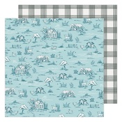 Gingham Grove Paper - Garden Party - Maggie Holmes