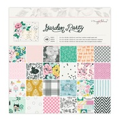 Garden Party 12x12 Paper Pad - Maggie Holmes