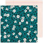 Floral Fantasy Paper- Brave + Bold - Amy Tangerine