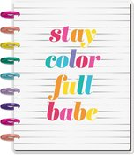 Color Me Happy Classic 12 Month Dated Planner - Me & My Big Ideas