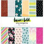 Brave + Bold 12x12 Paper Pad - Amy Tangerine - PRE ORDER