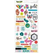 Brave + Bold Cardstock Stickers - Amy Tangerine