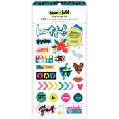 Brave + Bold Mini Sticker Book - Amy Tangerine