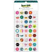 Brave + Bold Mini Puffy Stickers - Amy Tangerine - PRE ORDER
