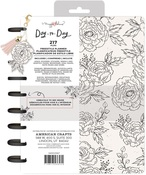 Black & White Freestyle Floral Disc Planner - Maggie Holmes - PRE ORDER