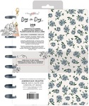 Blue Floral Freestyle Disc Planner - Maggie Holmes