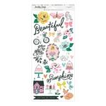 Garden Party 6 x 12 Sticker Sheet - Maggie Holmes