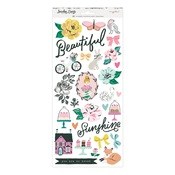 Garden Party 6 x 12 Sticker Sheet - Maggie Holmes - PRE ORDER