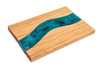 Color Pour Resin Wood River Tray - American Crafts