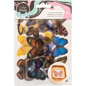 Color Pour Resin Wood Acetate Butterflies Mix In - American Crafts - PRE ORDER