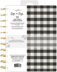 Black & White Checkerboard Disc Journal - Maggie Holmes - PRE ORDER