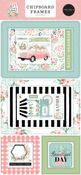 Flower Garden 6x13 Chipboard Frames - Carta Bella - PRE ORDER