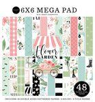 Flower Garden Cardmakers 6x6 Mega Pad - Carta Bella - PRE ORDER