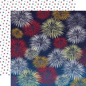 Firework Fiesta Paper - God Bless America - Carta Bella
