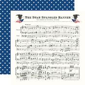 Star Spangled Banner Paper - God Bless America - Carta Bella