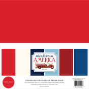 God Bless America Solids Kit - Carta Bella
