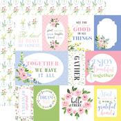 Pastel Journaling Cards Paper - Flora No.4 - Carta Bella