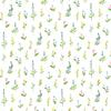 Pastel Stems Paper - Flora No.4 - Carta Bella