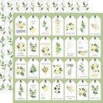 Natural Tags Paper - Flora No.4 - Carta Bella