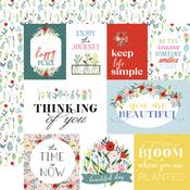 Bold Journaling Cards Paper - Flora No.4 - Carta Bella